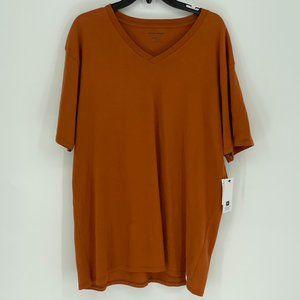 Richer Poorer Men's Orange T-Shirt